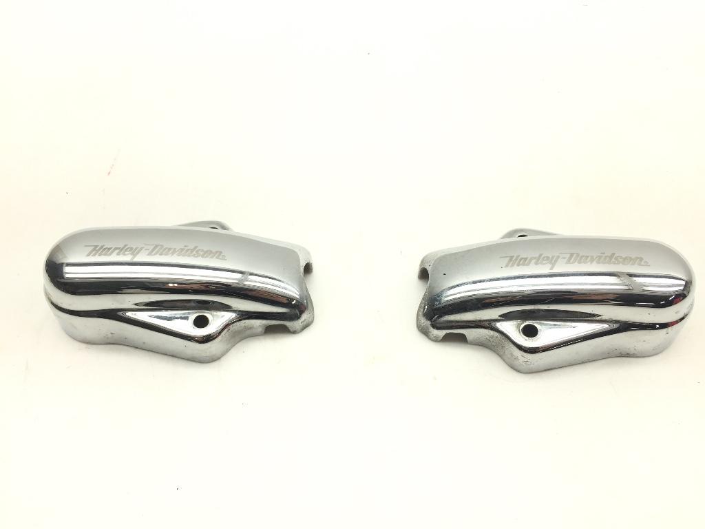 Harley-Swingarm-Chain-Aduster-Covers-2005-FLSTFSE-Screamin-Eagle-Softail-148 thumbnail 3
