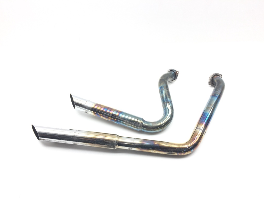Harley Full Exhaust Muffler Pipe System from 1999 Dyna